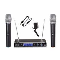 Micrófono Gtd Audio V-28h Vhf Dgv