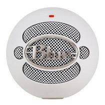 Blue Microphones Snowball Micrófono Usb (con Textura Blanco)