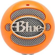 Blue Microphones Snowball Micrófono Usb (naranja Brillante)