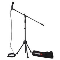 Microfono Proel Set (con Atril, Cable 6m, Funda) Mod. Pse3