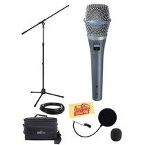 Shure Beta 87a Microfono Super Cardioide + Accesorios