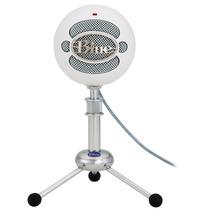 Blue Snowball Microfono Condensador Usb 3 Patrones Grabacion