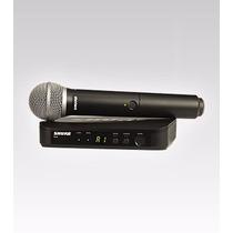 Micrófono Inalámbrico Shure Blx24/pg58 Nuevo!