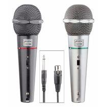 Microfono Alambrico Semi Profesional Con Cable