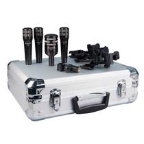Set De Microfonos Para Batería Audix Dp4 4 Piezas Nuevo