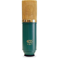 Mxl V67g Microfono Condensador Estudio Sonido Estilo Bulbo