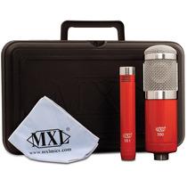 Kit De Microfonos De Condensador Mxl 550/551 Profesionales