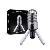Samson Meteor Microfono Usb Condensador Retro Studio Podcast
