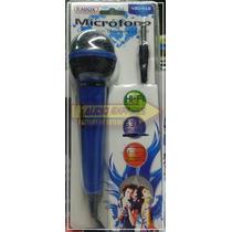Microfono Dinamico Unidireccional Azul 490416