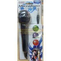 Microfono Dinamico Unidireccional Negro 490446