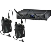 Sistema Inalambrico Digital Doble Lavalier Audio-technica