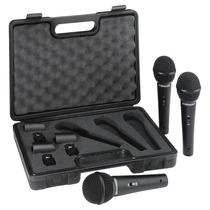 Behringer Xm1800s Paquete De 3 Micrófonos Dinámicos.