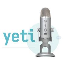 Blue Yeti Usb Microfono Condensador Para Estudio Profesional