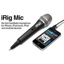 Irig Mic Microfono Condensador Para Ipod Iphone Ipad Android