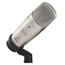 Microfono De Condensador Behringer C-1u Con Usb De Estudio