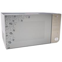 Horno De Microondas Daewoo 1.1 P3 Acabado Espejo Con Diseño