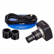 Camara Digital 3mp Para Microscopio Compatible Linux Asmcope