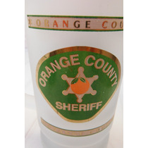Tarro Cervecero Orange County Sheriff Department Policia