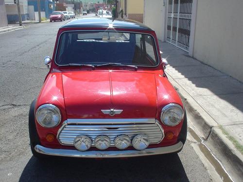 Mini Cooper Clasico 1972 Recien Pintado, Todo Exelente