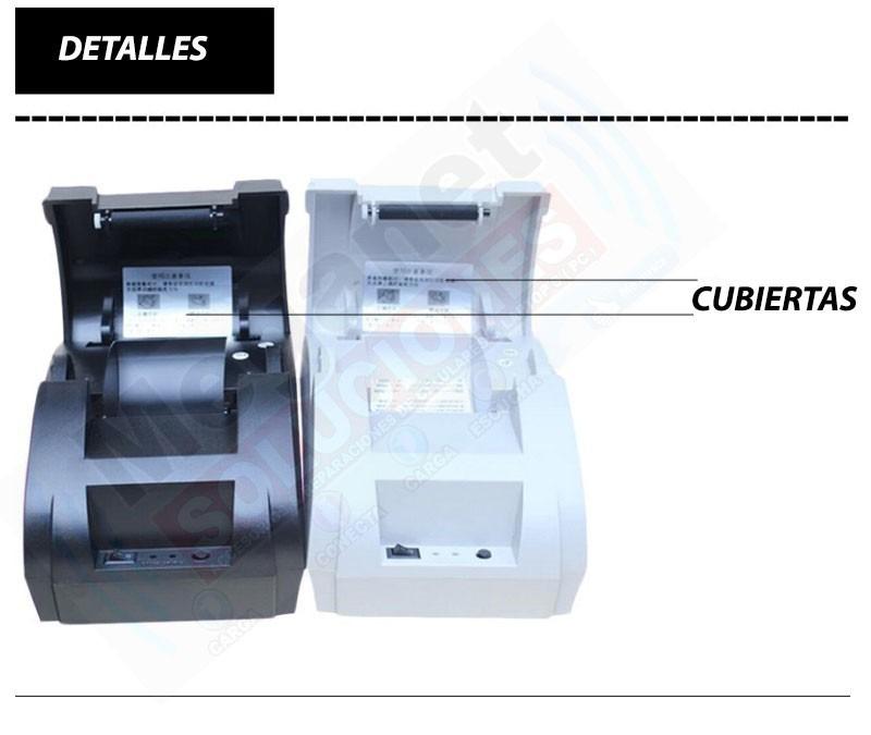 Mini Impresora Termica De Tickets Punto De Venta 58mm Usb