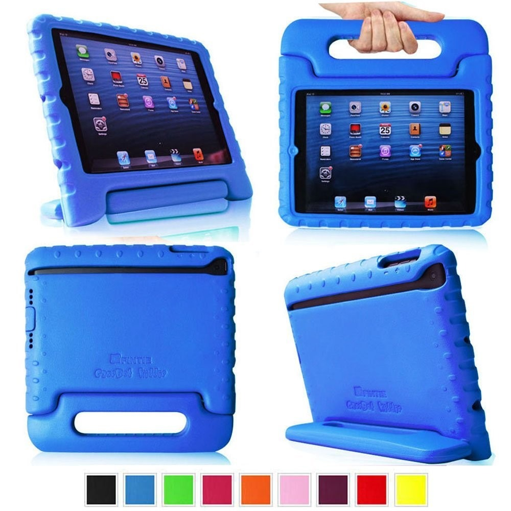 mini case 2 Ipad mini case, ipad mini 2 cover, essvita fashion three fold smart stand  sleep / wake magnetic flip pu leather hard case for apple ipad mini 1/2/3  rose.
