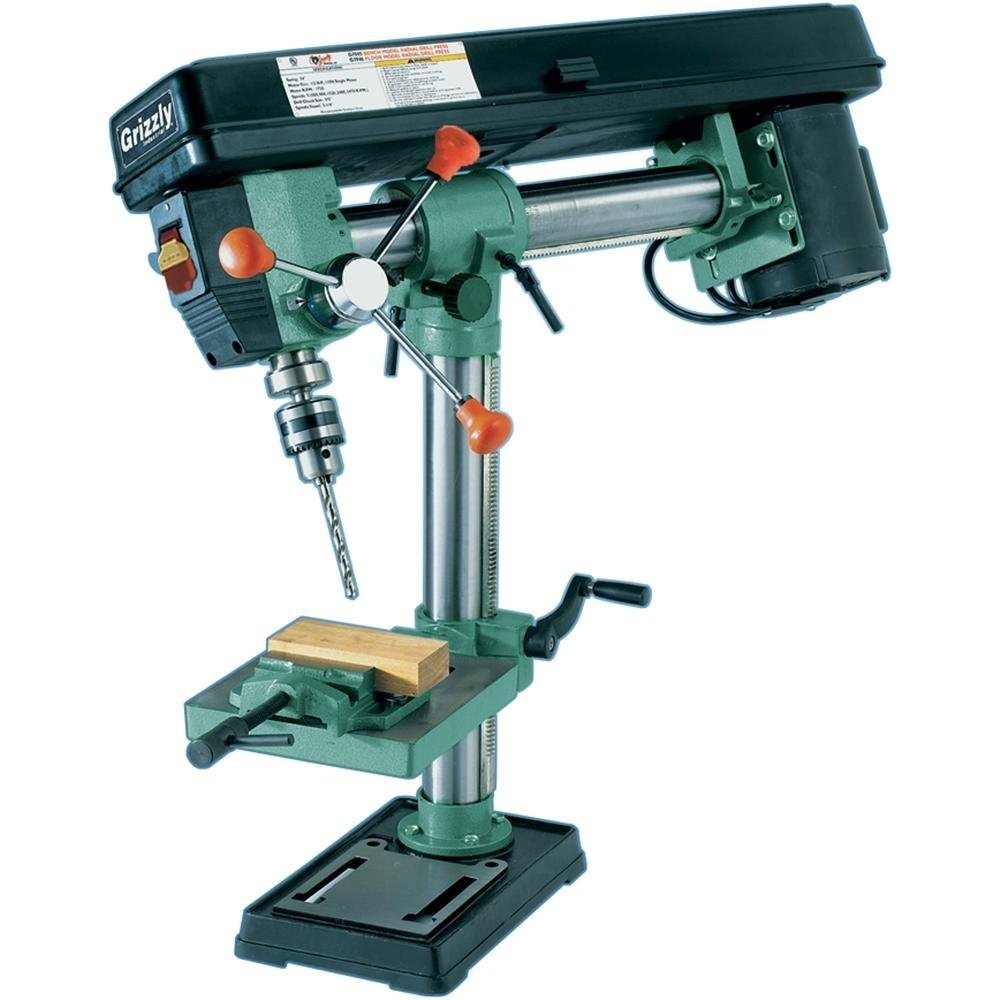 Grizzly+Drill+Press ... De Mesa 5 Velocidades Grizzly Hm4 - $ 10,999 ...