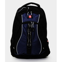 Wenger Back Pack Porta Laptop 16 Linden Negro Y Azul