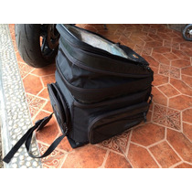 Mochila Para Moto 3 Tamaños En 1 Impermeable C Tirantes.