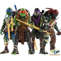 2014 Nueva Teenage Mutant Ninja Turtles Movie 5 Figura De A