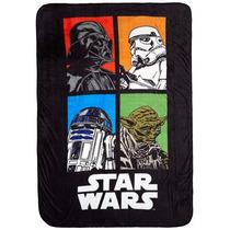 Jh Cobija Lucas Film Star Wars Soft And Cozy Blanket