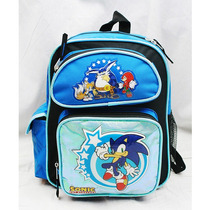 Pequeño Mochila Sonic The Hedgehog Brillante Libro Boy Sh10