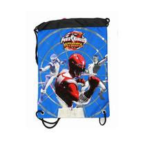 Cuerda Mochila Power Rangers Ranger Rojo Cinch Bolsa 30880-3