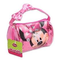 Disney Minnie Ratón Lentejuelas Mini Mano Bolso W / Arco De