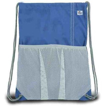 Mochila Viajes Sailorsbag Exterior Loneta Con Asas Azul Náut
