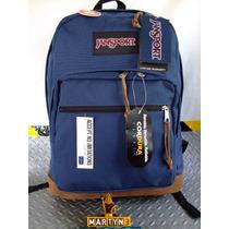 Mochila Jansport Right Pack World Collection High Risk Bnavy