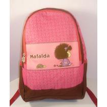 Hermosa Mochila Mafalda Original. Quino Chenson Durable Fm4