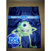 Monsters University Mochila Morral Primaria,guardería,kinder