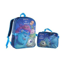 Mochila Monsters, Inc. Azul
