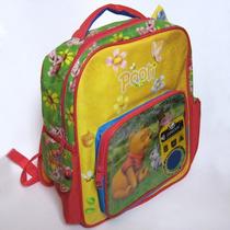 Mochila Winnie Pooh Backpack Maleta / Portafolio