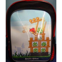 Mochila Angry Birds Holográfico 3d Mochila Tamaño Completo 1