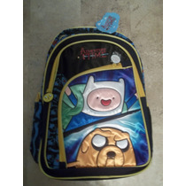 Backpack Mochila Adventure Time Hora De Aventura
