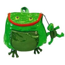 Mochila Kidorable School Children Shoulder Bag Frog Backpack
