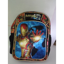 Mochila 100% Original Iron Man A Solo $360