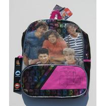 Mochila Escolar Backpack One Direction 1d Importada Vv4