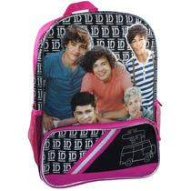 Mochila Escolar Backpack One Direction 1d Importada Hm4