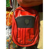 Mochila Back Pack Puma, Ferrari, Bmw.