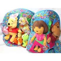 Mochila Whinnie The Pooh Y Dora La Exploradora