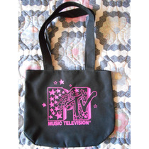 Bolsa Mtv Mercancia Original Morral Nuevo Tote Bag Dama