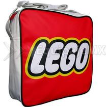 Mochila Escolar O Paseo Lego Original Unisex Tipo Mensajero