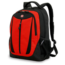 Mochila Swissgear Sa3077 Laptop 14 Pulgadas Negro Rojo